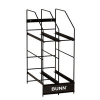 Bunn 4 Position Hopper Rack for MHG Smart Hoppers (Bunn 36760.0001)