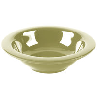 GET B-454-AV Diamond Harvest 4.5 oz. Avocado Melamine Bowl - 48/Case