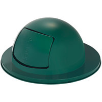 Rubbermaid FG1855EGN Empire Green Steel Drum Dome Top Lid