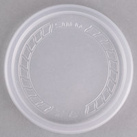 Dart Solo MicroGourmet NL8RT-7000 Contact Clear Recessed Polypropylene Lid - 500/Case