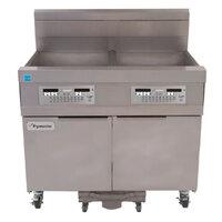 Frymaster 11814 63 lb. High Production Gas Floor Fryer with CM3.5 Controls - 119,000 BTU