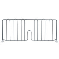 Metro DD21-DSH 21 inch Silver Hammertone Wire Shelf Divider
