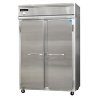 Continental Refrigerator 2F-SS 52 inch Solid Door Reach-In Freezer