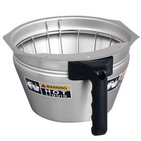 Bunn 32643.0001 Funnel Assembly with Stainless Steel Black Handle for Single Soft Heat Coffee Brewers