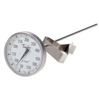 Taylor 6084J8 8 inch Candy / Deep Fry Probe Thermometer with Pan Clip