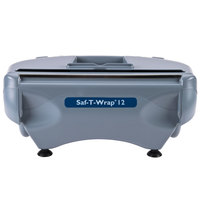 San Jamar SW12 Saf-T-Wrap 12 inch Film and Foil Wrapping Station with Slide Cutter and Optional Safety Blade