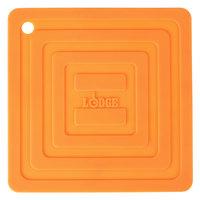 Lodge AS6S61 Orange 6 inch x 6 inch Silicone Pot Holder