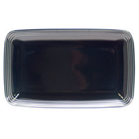 Homer Laughlin 10459712 Bosque Blueberry 11 1/4 inch X 6 3/4 inch Rectangle Dish - 12/Case