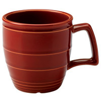 Homer Laughlin 13229390 Bosque Chestnut 14 oz. Mug - 12/Case