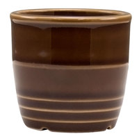 Homer Laughlin 13329392 Bosque Maple 2 5/8 inch Sugar Caddy / Sauce Cup - 36/Case