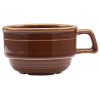Homer Laughlin 13049392 Bosque Maple 10.5 oz. Stackable Cup - 36 / Case