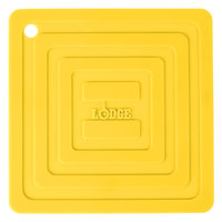 Lodge AS6S21 Yellow 6 inch x 6 inch Silicone Pot Holder