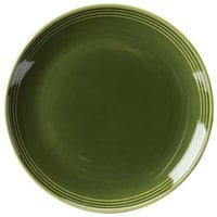 Homer Laughlin 13109391 Bosque Moss 10 1/2 inch Round Plate - 12/Case