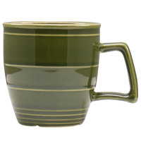 Homer Laughlin 132229391 Bosque Moss 14 oz. Mug - 12/Case