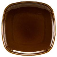 Homer Laughlin 13309392 Bosque Maple 8 3/4 inch Square Plate - 12/Case