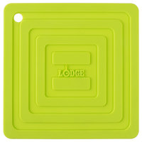 Lodge AS6S51 Green 6 inch x 6 inch Silicone Pot Holder