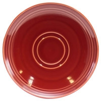 Homer Laughlin 13149390 Bosque Chestnut 6 1/2 inch Saucer - 36/Case