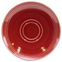 Homer Laughlin 13149390 Bosque Chestnut 6 1/2 inch Saucer - 36/Case