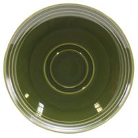 Homer Laughlin 13149391 Bosque Moss 6 1/2 inch Saucer - 36/Case