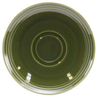 Homer Laughlin 13149391 Bosque Moss 6 1/2 inch Saucer - 36/Case