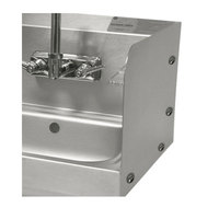 Advance Tabco 7-PS-27E Bolted Side Splash - 7 3/4 inch High