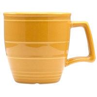 Homer Laughlin 13229518 Bosque Goldenrod 14 oz. Mug - 12/Case