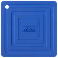 Lodge AS6S31 Blue 6 inch x 6 inch Silicone Pot Holder