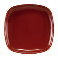 Homer Laughlin 13309390 Bosque Chestnut 8 3/4 inch Square Plate - 12/Case