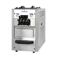 Spaceman 6235 Soft Serve Ice Cream Machine with 2 Hoppers