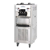 Spaceman 6250H Soft Serve Ice Cream Machine with 2 Hoppers