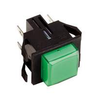 Bunn 28296.0000 Green Lighted Momentary Push Button Switch for Hot Beverage Dispensers