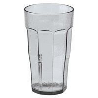 Cambro LT22152 Clear Laguna Customizable Plastic Tumbler 22 oz. - 36/Case