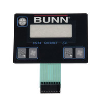 Bunn 32126.1004 Membrane Switch for ULTRA-2 Frozen Drink Machines