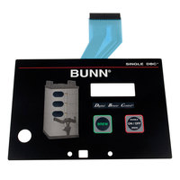 Bunn 29973.0000 Membrane Switch for Single SH Coffee Brewers