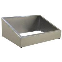 Steril-Sil E1-CBD-2V Stainless Steel Countertop Silverware Dispenser for Two E1 Inserts
