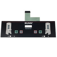 Bunn 34802.0000 Membrane Switch for Dual TF Coffee Brewers