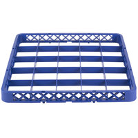 Noble Products 25-Compartment Blue Full-Size Glass Rack Extender - 19 3/8 inch x 19 3/8 inch x 1 3/4 inch