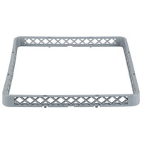 Noble Products 19 3/8 inch x 19 3/8 inch Gray Full-Size Glass Rack Extender