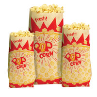 Paragon 1029 1 oz. Paper Popcorn Bags 1000 / Case