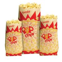 Paragon 1030 1.5 oz. Paper Popcorn Bag - 1000 / Case