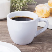 GET C-1004-W Diamond White 3 oz. Espresso Cup   - 48/Case