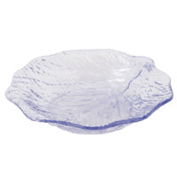 GET LE-600-CL Creative Table 6 inch Clear Leaf Plate - 24/Case