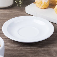 GET SU-4-DW Diamond White 4 1/2 inch Saucer - 48/Case