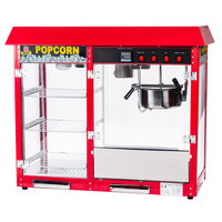 Carnival King PMW17R Royalty Series 8 oz. Popcorn Machine / Popper with Warming / Holding Merchandiser