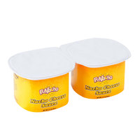 FUNacho 3.5 oz. Nacho Cheese Sauce Cup   - 48/Case
