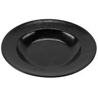 GET B-1609-BK Etchedware 16 oz. Textured Black Bowl - 12/Case