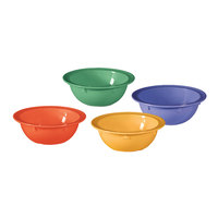 GET DN-902-MIX Creative Table Mardi Gras Assorted Colors 13 oz. Bowl   - 48/Case