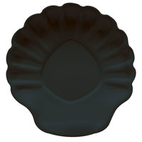 GET SH-8-BK Creative Table 8 inch Black Shell Plate - 12 / Case