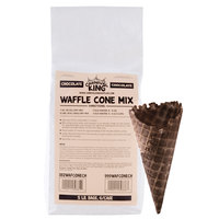 Carnival King Chocolate Waffle Cone Mix 5 lb. Bags 6 / Case