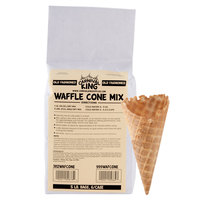 Carnival King Old Fashioned Waffle Cone Mix 5 lb. Bags 6 / Case